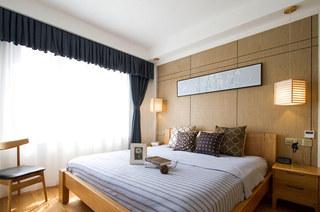 105平日式二居主卧室效果图