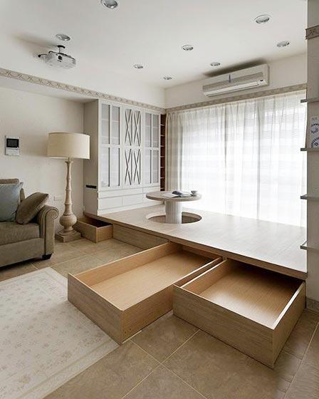 10个小房间榻榻米床装修图片