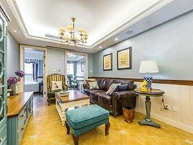 这套公寓像个艺术品 精雕细琢完美无缺的两居室