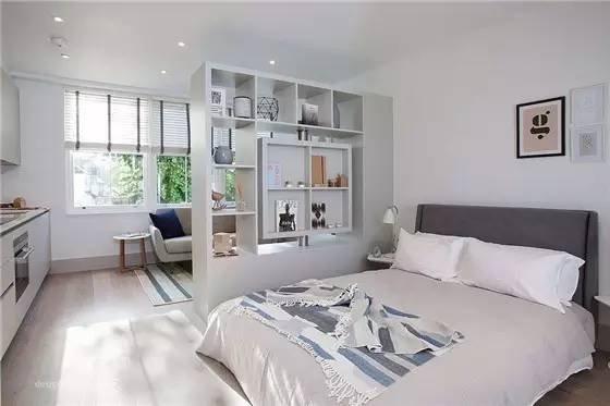 卧室隔断设计得好,单间变套间(二)_自媒体_装修头条