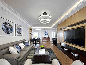 现代简约风格旧房装修效果图 展现独特格调
