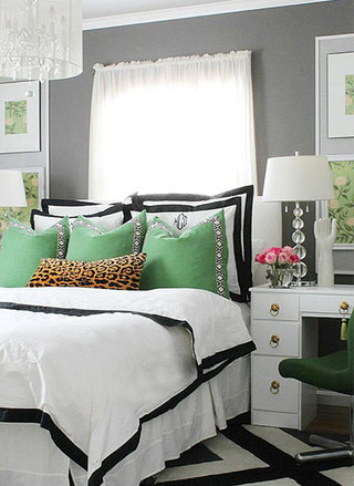 美式风卧室装修装饰效果图