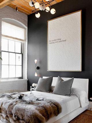 美式风卧室布置欣赏图