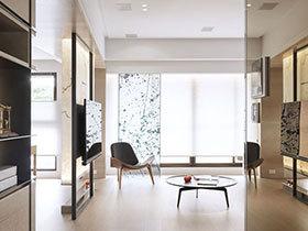 115平简约风格三室两厅装修 温润日光宅