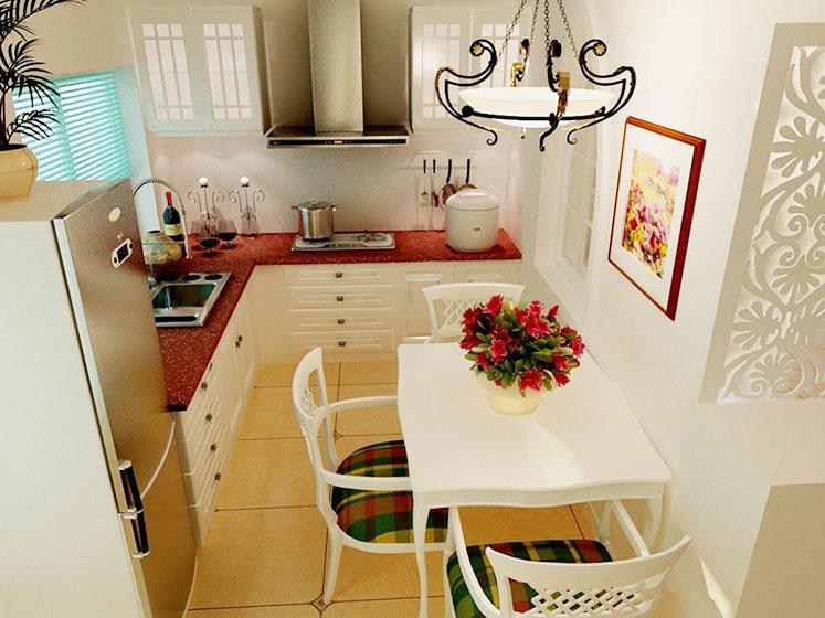 小户型厨房设计平面图