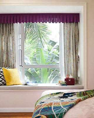 118平新古典公寓卧室飘窗效果图