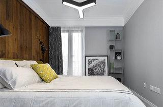 新古典风格复式装修卧室床品图片