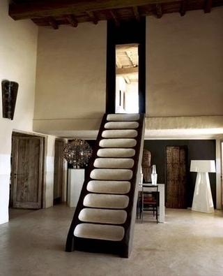 创意楼梯布置摆放图