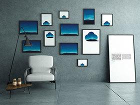 不仅仅是几张照片  10个室内照片墙布置图片