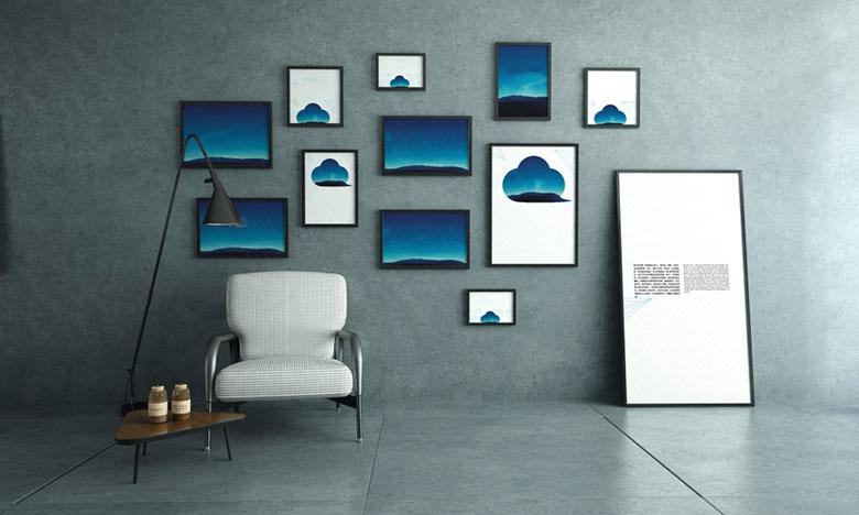 室内照片墙装修装饰效果图