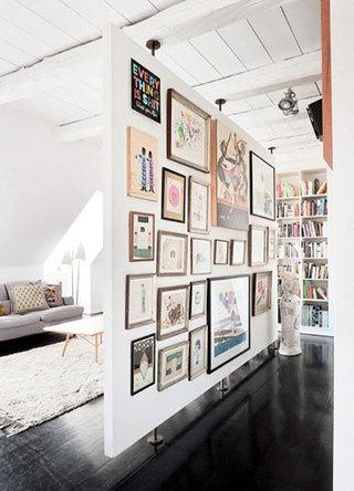 室内照片墙设计构造图片大全