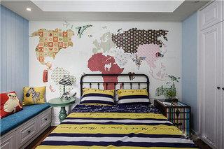 90㎡现代两居室设计图片大全