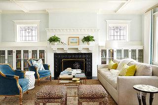 混搭风格别墅客厅设计图