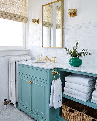 混搭风格别墅浴室装修设计图