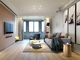 宜家混搭风二居设计 舒适的生活格调