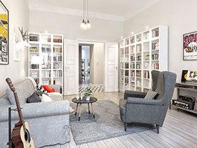 北欧风格小户型公寓装修 幸福家居空间