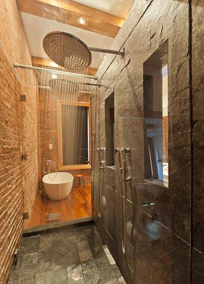 简约浴室装修效果图