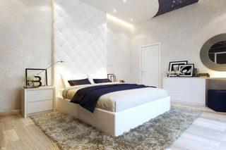 现代风卧室装修构造图