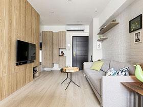 6万打造惬意宜家北欧风 复式公寓设计