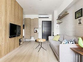 68平北欧风格装修公寓效果图 惬意温馨