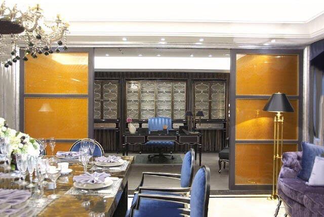 客餐厅屏风设计构造图