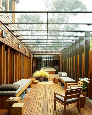 休闲阳光房设计平面图