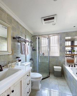 170平美式四房卫生间效果图装修