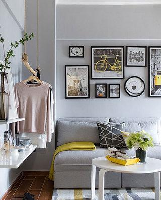 21平一室一厅装修客厅效果图