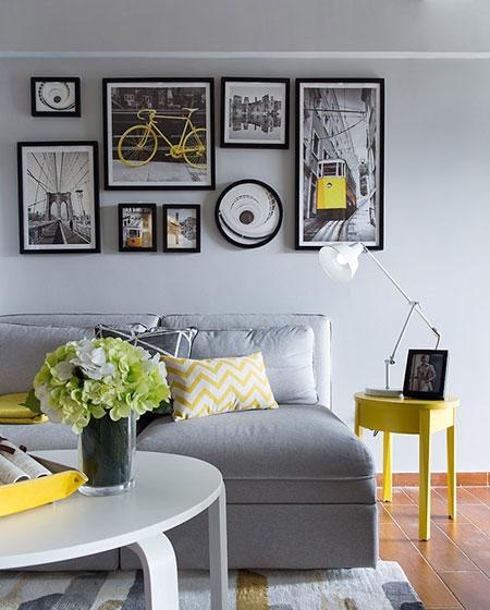 21平小户型公寓沙发背景墙装修