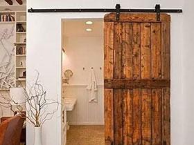 10个木质谷仓门效果图 让家一秒变文艺