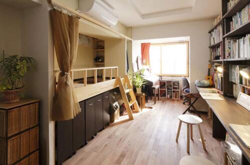 【西安盛腾美巢家装】小户型卧室收纳 超实用的家居装修