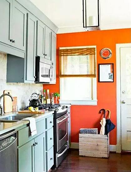 厨房装修背景墙设计图
