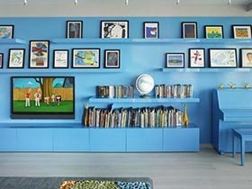 收纳也疯狂  10款收纳型电视背景墙图片