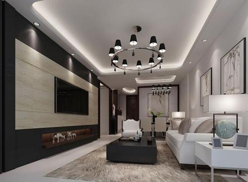 按风格查看 正文  吊顶在家居装修属于比较重要的一部分,人们进入客厅