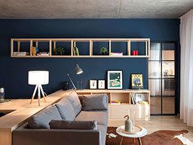 一室一厅小户型装修效果图 理工男的蜗居生活