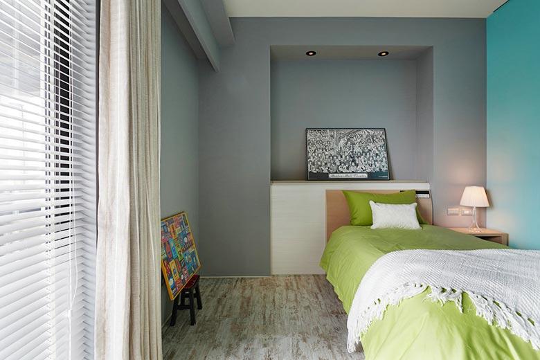 混搭风格卧室构造图片