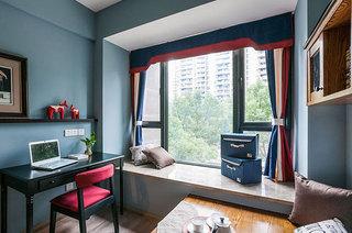 110平混搭三室两厅书房飘窗装修
