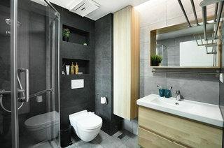 100平北欧两居室卫生间装修装潢