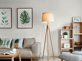 100平日式风格三室两厅装修 有氧城市木屋