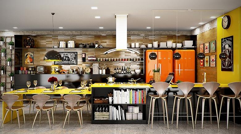 厨房收纳置物架设计图