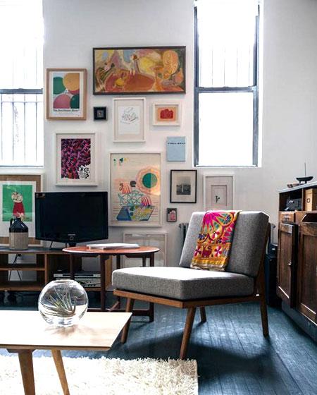客厅电视背景墙照片墙效果图