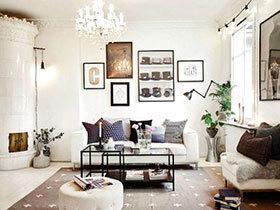 10个客厅照片墙效果图 留住美好时刻