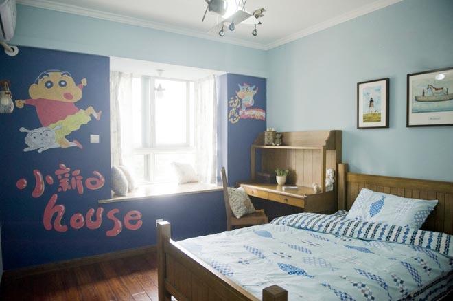 艺术飘窗背景墙图片