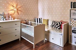 浪漫温馨美式儿童房效果图