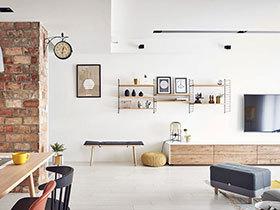 148平北欧风格四房两厅装修 精致生活家
