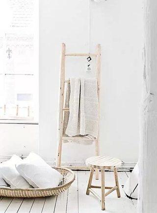 北欧风梯子装饰设计图