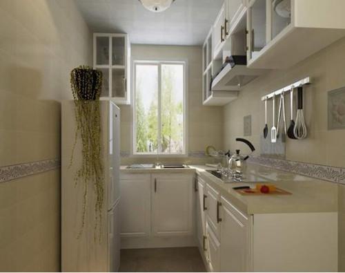 小厨房装修效果图 打造美食天地