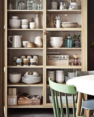 小户型单身公寓碗柜效果图