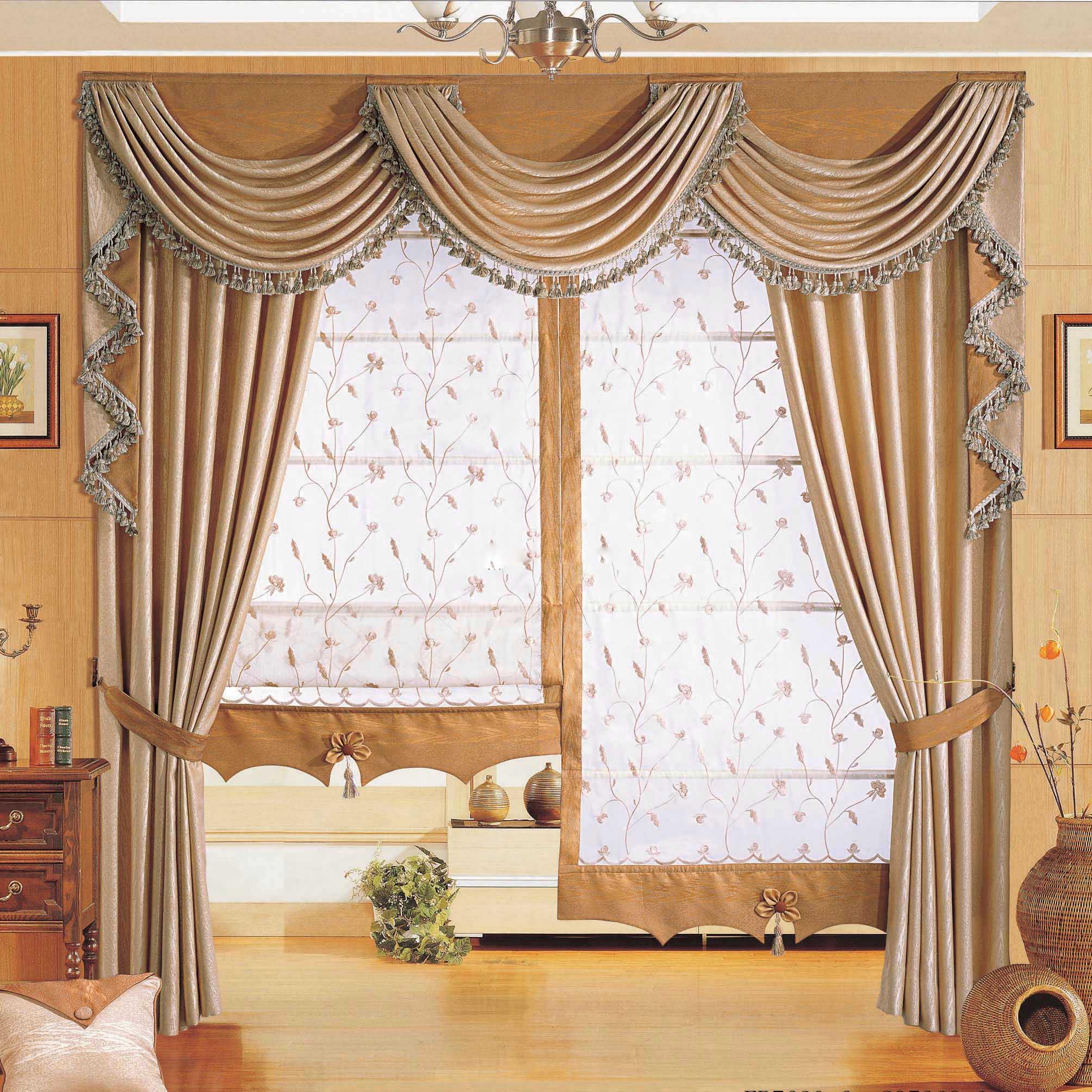 春秋窗帘建议您如何选择窗帘搭配窗帘图片