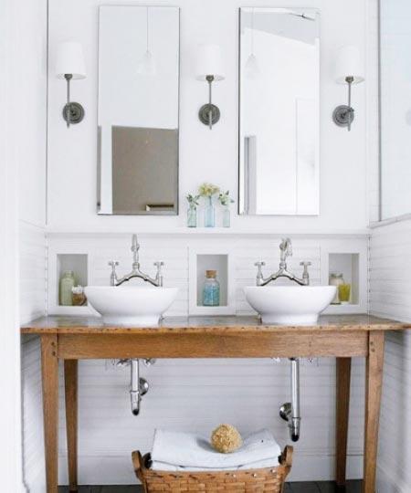 洗手台装修效果图